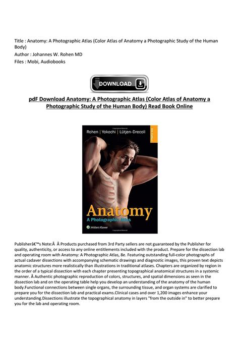 Atlas of anatomy gilroy 2nd edition download | professionalswouldn ...